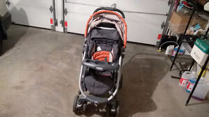 Graco travel System; Stroller, Carrier, Car seat base