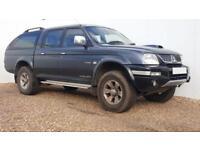 2006 06 MITSUBISHI L200 2.5 4WD TROJAN LWB DCB 1D 114 BHP DIESEL