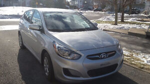 TRANSFERT DE BAIL LOCATION 2014 Hyundai Accent