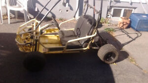 Hornet go_cart 2 seater needs motor!!
