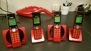 VTech CS6919 DECT 6.0 Cordless Phones (set of 4)