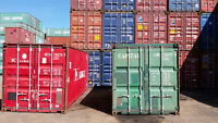 Storage or Cargo Worthy Shipping Containers at a Great Price