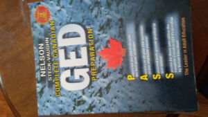 GED book. New.