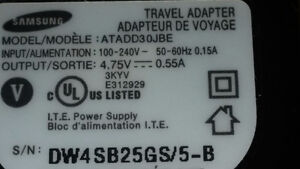 Samsung AC Adapter - Travel Adapter