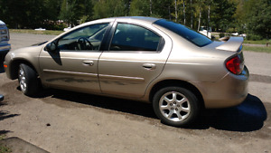 2002 Chrysler Neon 4cyl Manual 5 speed. A/C