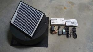 Solar Powered Attic Fan w/Controller & Remote Kit