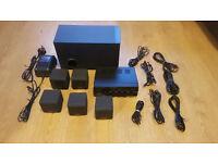 Creative / Cambridge Soundworks CTT2500 desktop theatre - speakers, amp & cables