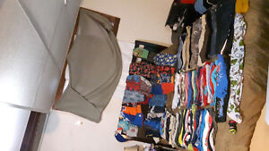 Over 100's pieces of  size 4T boys clothes