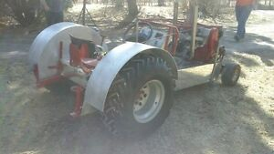 **MINI MOD 4 CYLINDER PULL TRACTOR** TRADE?