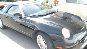 2002 Ford Thunderbird Convertible/ Plus More