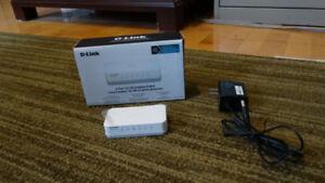 Switch Ethernet 5 port Dlink