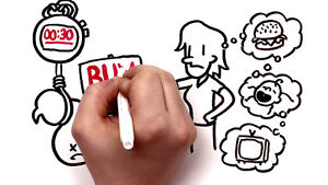 WHITE BOARD COMMERCIAL VIDEO (Full Package) Check Sample