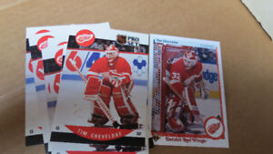 Tim Cheveldae NHL goalie rookie cards(9)