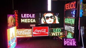 LED Sign Programmable Toronto New Year Sales