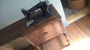 """""""White"""" sewing machine and cabinet OBO"""