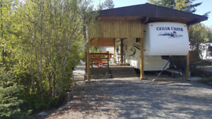 Trailer and Lot for Sale at Eagle's Nest Moyie Lake, BC