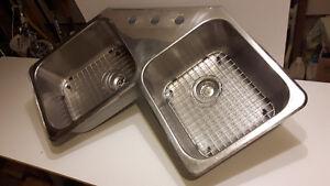 Kindred corner double sink