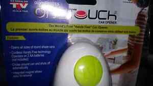"CORDLESS, PAIN FREE  ""ONE TOUCH"" CAN OPENER Kitchener / Waterloo Kitchener Area image 1"