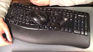 WOW: Microsoft Wireless Keyboard and Mouse $40