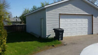 Secure storage garage with power and extra parking