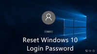 $20 WINDOWS 7, 8, AND 10 PASSWORD RESET - 24 HOUR TURNAROUND