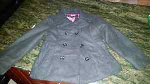 Size 5 very  warm pea coat 6.00