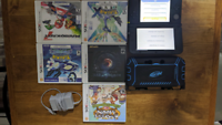 3DS XL with case and 5 games