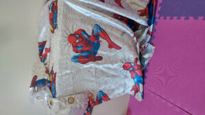 Spiderman curtain