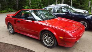 1986 Toyota MR2 Coupe (2 door)