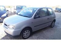 1999 v Seat Arosa 1.4 auto S very low miles one owner