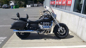 Matte Black Honda Valkyrie - Ride the Dragon