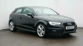 image for 2014 Audi A3 1.4 TFSI 125 S Line 3dr S Tronic Auto Hatchback petrol Automatic