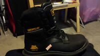 steel toe boots caterpillar for sale