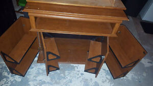 Tv Stand with the capacity to hold a large amount of dvds Cambridge Kitchener Area image 2