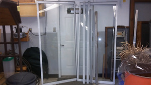 Sliding glass door - single paned - 70 in wide X 80 in high door