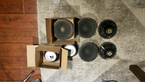 Celestion 8 inch neodynium speakers