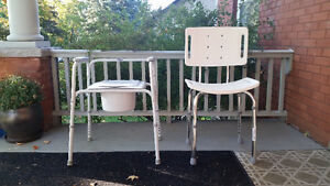 Shower Chair, Commode Chair, Wheeled Walker Cambridge Kitchener Area image 1