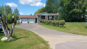 Basement for rent on acreage 2 minutes from town