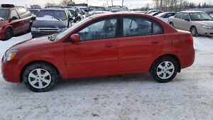 2011 Kia Rio with only 74,000 kms