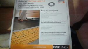 !! Schluter -Ditra-Heating-E Floor warming cable
