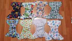 Alva + Jean coutu cloth diapers