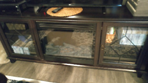 WANT GONE IMMEDIATLEY!Canadian tire tv console with fireplace.
