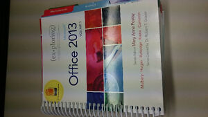 Microsoft Office 2013 Volume 1, ISBN: 978-0-13-314267-9