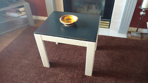 end table  coffee table refurbished