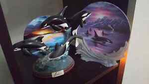 collector whale plates