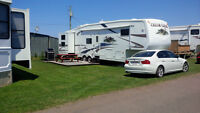 2007 Cedar Creek 38ft Fifth Wheel seasonal @ Sandy Beach REDUCED