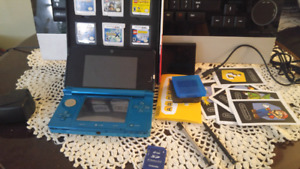 3ds with pokemon and lego games