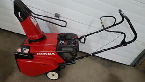 PRICED TO SELL...HONDA SH 621 SNOWBLOWER