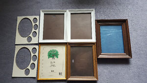 6 Solid Wood Picture Frames