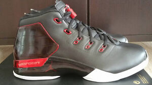 DS Jordan 17 Black Gym Red. Sz 11.5, NEED GONE!